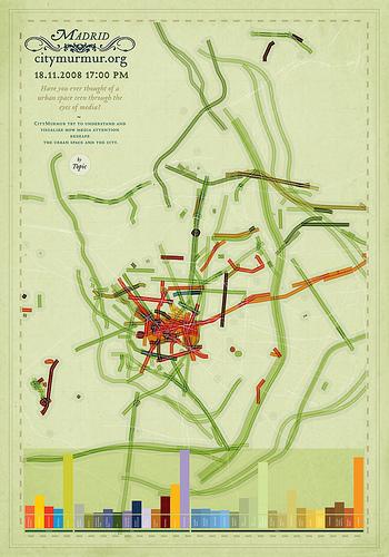 Инфографика: медиа-карта Мадрида