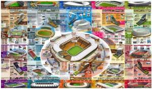 ЧМ 2010 - инфографика по стадионам