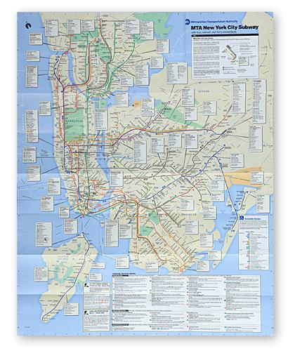 Карта Нью-Йорка с 1988 по 2010 годы