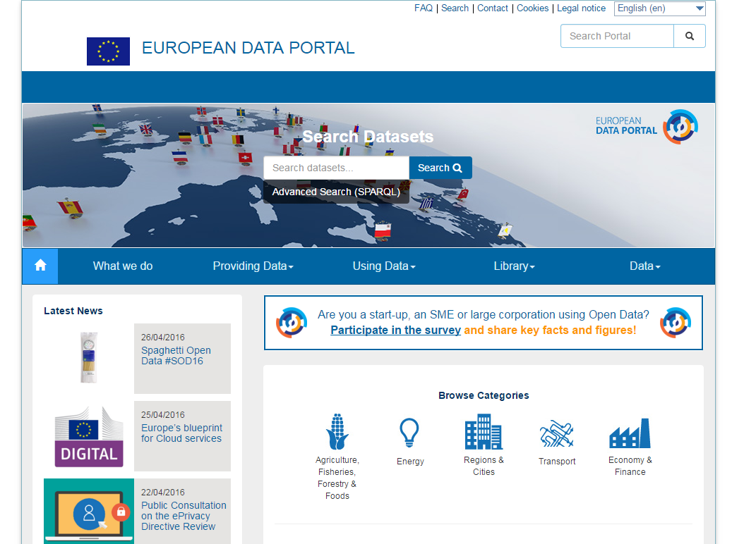 European data portal