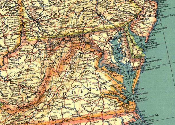 Секрет карт NG –80-летний шрифт. На картинке - карта 1933 года. С тех пор шрифт практически не поменялся.
